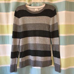 a new day Medium Striped Knit Sweater